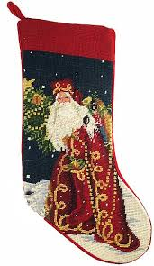 christmas needlepoint designer haney soldier santa christmas