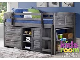 Bunk Bed Bob Discovery Furniture Youth Bedroom Harrison Loft Bed With Storage