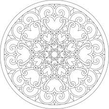 heart coloring stars and heart valentine coloring page heart i