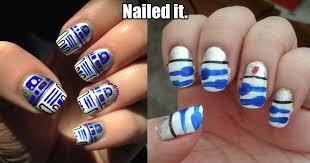 British Flag Nails 21 Major Nail Art Fails And Wins Kiwireport