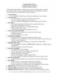 teenage resume skills resume templates for highschool students