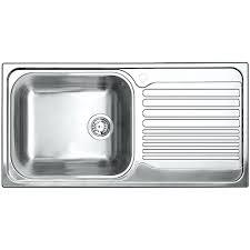 Single Kitchen Sinks Single Bowl Kitchen Sink Top Mount Top Mount Stainless Steel