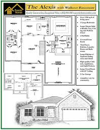 here is the floor plan for the great escape 480 sq ft small with walkout floor plan