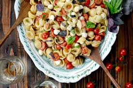 Cold Pasta Salad Dressing Simply Scratch Caprese Pasta Salad Simply Scratch