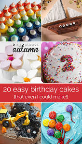 20 easy to decorate birthday cakes that even i can u0027t mess up