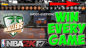 nba 2k17 secret way rep up fast win every game and never lose