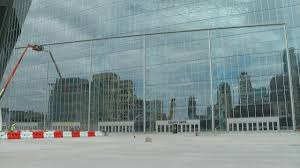 the green glass door game u s bank stadium u0027s doors unlike any others youtube