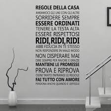 wall stickers uk wall art stickers kitchen wall stickers ws8008 italian family quotes