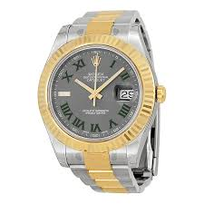 gold rolex oyster bracelet images Replica rolex datejust ii grey dial stainless steel and 18k yellow jpg