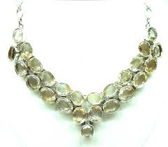 stone necklace designs images Wholesale exporter of designer sterling silver 925 semiprecious jpg