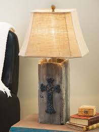Making Wooden Table Lamps by Best 25 Rustic Lamp Shades Ideas On Pinterest Rustic Lamps