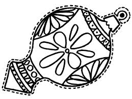 ornament coloring pages printable coloring