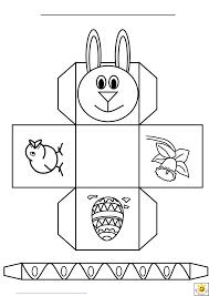 easter bunny basket templates u2013 happy easter 2017