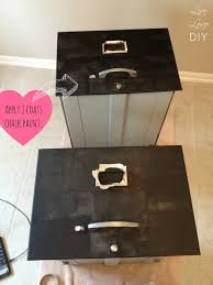 How To Paint A Filing Cabinet Livelovediy How To Spray Paint A File Cabinet And The Occasional
