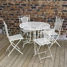 Metal Garden Chairs And Table 20 Fun And Functional Metal Outdoor Furniture Home Design Lover
