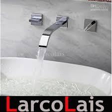 Faucet Set Chrome Polished Bathroom Sink Faucets Basin Tap - Faucet sets bathroom 2