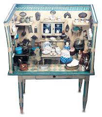 dolls house kitchen furniture the boys collection 347 german wooden doll house kitchen on