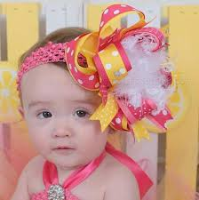 beautiful bows boutique buy yellow pink lemonade birthday hair bow headband online at
