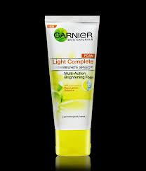 Serum Vitamin C Garnier garnier light complete multi brightening foam lemon