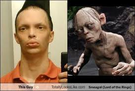 Smeagol Meme - this guy totally looks like smeagol lord of the rings totally
