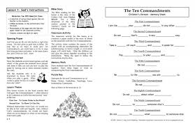 learning the ten commandments leader c 1135 sola publishing