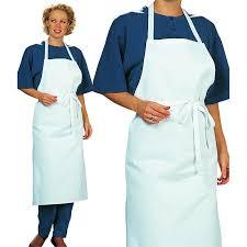 tablier cuisine femme tablier cuisine à bavette restaurant bistro blanc coton sergé