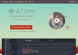 installing atom