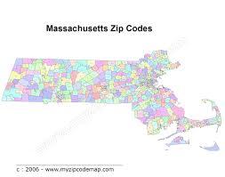 Ma Map Massachusetts Zip Code Maps Free Massachusetts Zip Code Maps