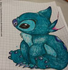 stitch sketch by senselessnessa on deviantart