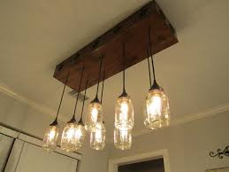 hanging ceiling lights chandeliers design magnificent dining room marvellous mason jar