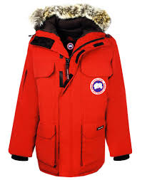 canada goose men u0027s expedition parka red country attire