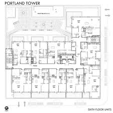Floor Layouts by Floor Plans Downtown Minneapolis Condos For Sale Portland Tower