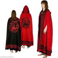 celtic ritual robes cloak fasting robe cloak wicca clothing pagan