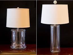 fillable glass lamps concord lamp and shade