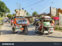 philippine tricycle el nido palawan philippines march 22 stock photo 309387038