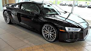 Audi R8 All Black - audi r8 v10 plus mamba black an audi exclusive color in 4k
