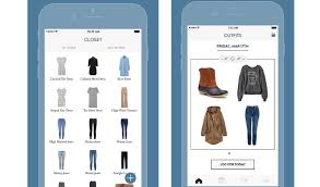 clothes organizer app suggests based on weather springwise
