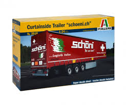 1 24 curtainside trailer truck trailers accessories 1 24