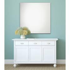Erias Home Designs Frameless Polished Edge Wall Mirror - Erias home designs