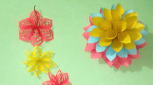 How To Diy Home Decor by Easy Diy Home Decor Ideas How To Make Wall Decoration With Paper