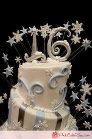 sweet 16 cake topper winter themed sweet 16 cake sweet 16 cakes