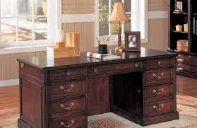 Solid Oak Office Desk Furniture Handsome Picture Of Home Office Decorating Design Ideas