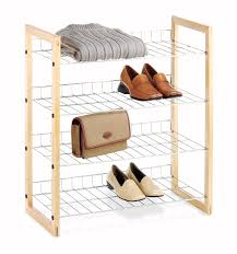 whitmor 4 tier shelves review wire shelves wooden frame with