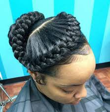 goddess braids hairstyles for black women 55 of the most stunning styles of the goddess braid