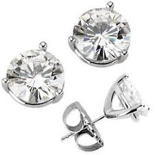 moissanite earrings 17 best moissanite earrings bracelets images on