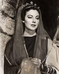 Knights Of The Round Table 1953 Ava Gardner As Queen Guinevere In U0027knights Of The Round Table