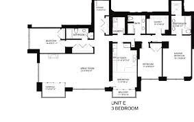 55 east erie floor plans