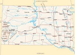 South Dakota rivers images South dakota rivers map gif