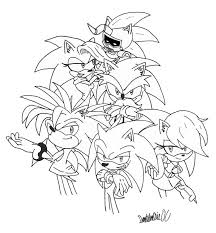 sonic underground coloring pages sonic underground coloring free