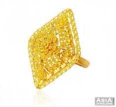 beautiful golden rings images 22k beautiful filigree ring ajri58387 22k gold ladies ring jpg